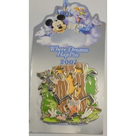 Where Dreams HapPin - Goofy of the George of the Jungle Event LE Pin