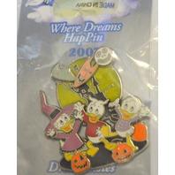 Disney Where Dreams HapPen Huey, Louie and Dewey Halloween Pin - LE