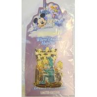 Disney Where Dreams HapPin - Goofy Haunted Masion LE #55074