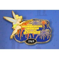 Disney's Tinker Bell Pins: Faith,Trust and Pixie Duct, 1969 World of Disney