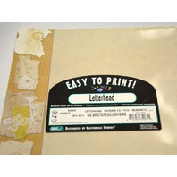 Easy To Print Dandelion Frame Paper, 100 Sheets