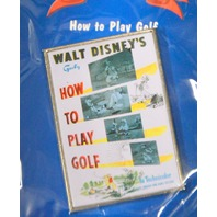 Disney Store: 12 Months of Disney Magic - How to Play Golf - New sealed.