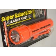 Pelican Super SabreLite Submersible 3 cell Spotlite Flashlight. - Orange - Demo