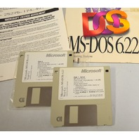 Vintage Collectible Microsoft MS DOS 6.0 to 6.22 Upgrade