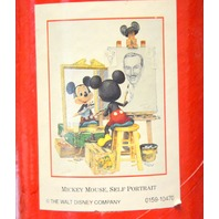 """Self Portrait Mickey Mouse"" Poster - Charles Boyer 24.5 "" x 33"""