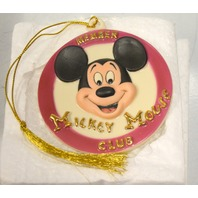 Mickey Mouse Club Ornament by Lenox Classics with certification.