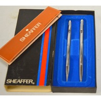 Sheaffer Ballpoint Pen and Pencil Set - White Dot
