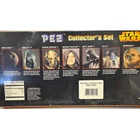 Star Wars PEZ Collector's Set - 9 PEZ dispensers - needs new candy's.