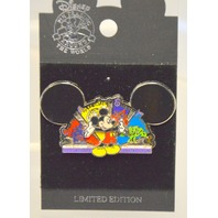 "Disney Pin - Mickey Mouse Ear Hat - ""Create, Appreciate,Share Together"" Pin."
