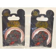 Disney Star Wars Darth Vader Pin  -  2 pins.