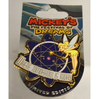 Mickey's Pin Festival of Dreams - Tinker Bell - Where Tomorrow is Today. LE