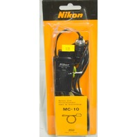Nikon MC-10 Remote Cord with trigger button for Motor Drives