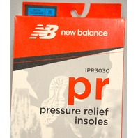 New Balance Men's Size 15 D, Pressure relief insoles - IPR3030