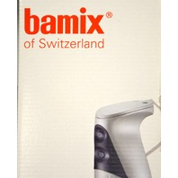 Bamix Gastro 350 Long Handle Professional Hand Mixer. Swiss Made