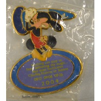 """Disney 204 """"Nothing can stop us from delivering the magic"""" Pin"""