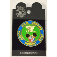 Mickey and Gang Spinner Pin, Today I feel...