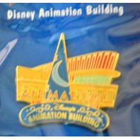4 Disney Pins in 12 Months of Disney Magic. Mickey,Pluto,Water Tower,Animaton Bldg