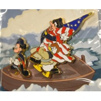 Disney Pin #95194 - Mickey Mouse Discovering America.