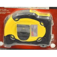 Laser Level Tape Measure Pro- 25' - New old stock, will need new batteries.