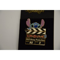 Disney Auctions Stitch Clapboard that opens LE1000 - Pin #DP00708
