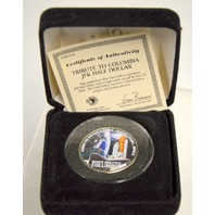 Tribute to Columbia Space Shuttle Jan. 16- Feb 1, 2003 JFK Half Dollar