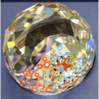 "Swarovski Crystal Arribas 2"" Paperweight Mickey the Sorcerer. LE 1000/0093"