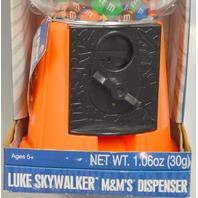 Luke Skywalker-Star Wars-M&M's Dispenser - New - Will need new candies