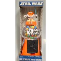 Luke Skywalker-Star Wars-M&M's Dispenser - New - Will need new candies