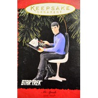 Hallmark Keepsake Ornament Mr. Spock-Star Trek  #05544