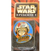 Star Wars Episode 1 Collector Pins  (5 ) Queen Amidala,C3PO,Naboo,Droid,Anakin