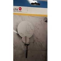 GRiiPA  #PUK3848 Shower Mirror with Friction Mount and Razor Hook.