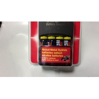 Maxell Nickel-Metal Hydride Battery Charger Kit #P2001 AA and AAA