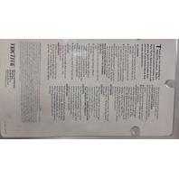 Tektite Trek 4 Aluminum LTD Idition #3A-4400-4 Wide Angle  Flashlight.