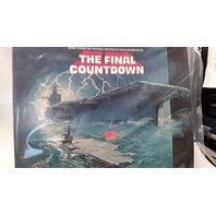 The Final Countdown Original Motion Picture Soundtrack Vinyl Record