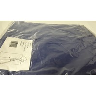 1 - Hooded Poncho - PVC Sideline Cape -  Color Royal Blue, No Sleeves