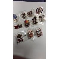 11 US Soccer Collectible Pins - Each with a different advertiser on it. 1994 World Cup