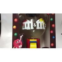 M&M's - Party m's Dispenser!  With M&M guys on the candy globe.
