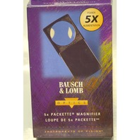 Bausch & Lomb Packette Coin Magnifier 5X Pop Out Loop #81-31-33