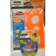 Fiskars Ultra ShapeXpress and Fiskars ShapeTemplate-3 Pack