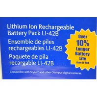Olympus #202034 Lithium Ion Rechargeable Battery Pack LI-42B