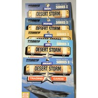 Troops Series I Model #8701,8702,8703,8704,8705 - Trading Cards 12 Per Model