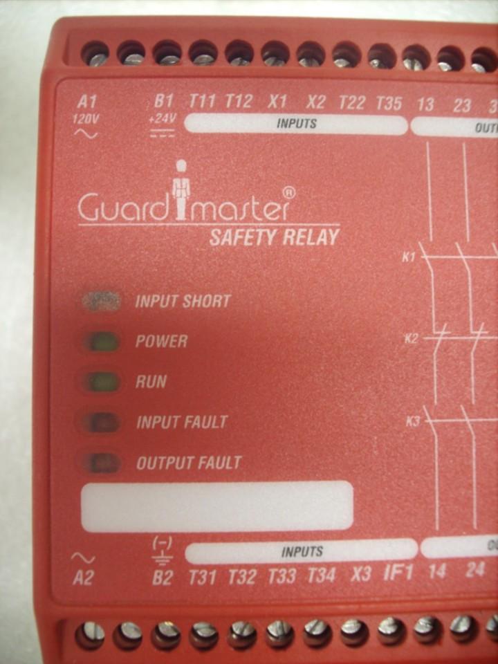 Allen Bradley GuardMaster 440R-ZBR520AZ1 Safety Relay ***Price Reduced***