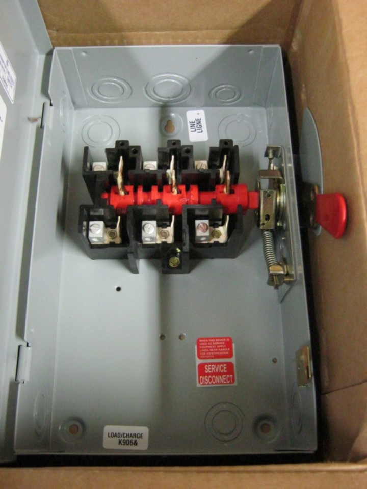 Ge Tgn3322 60 Amp General Duty Safety Switch 240 Vac 3