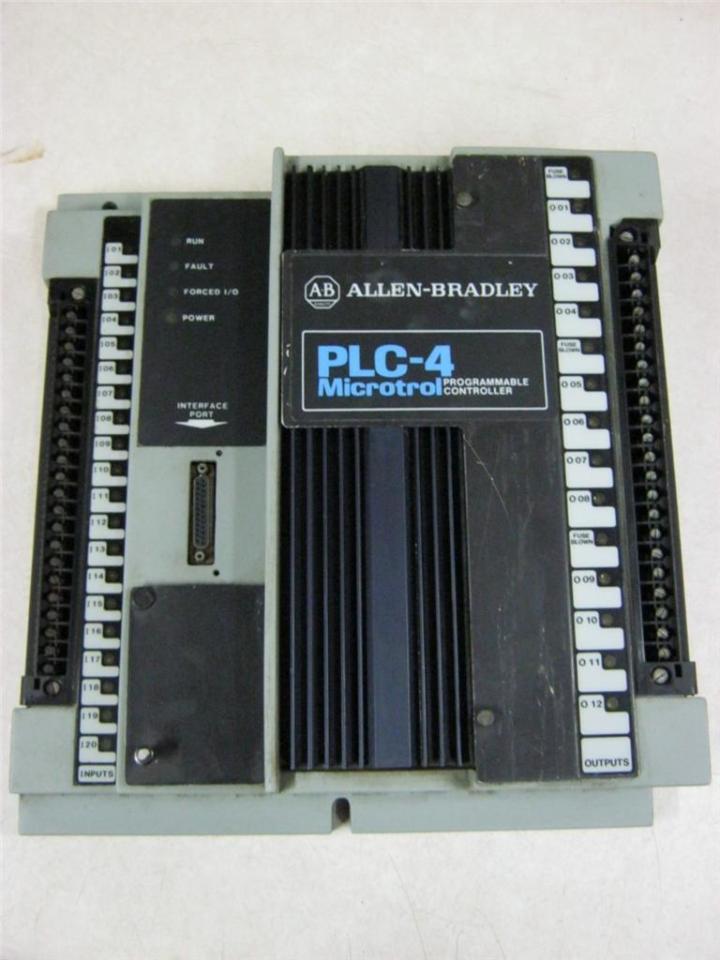 Allen Industries: Allen-Bradley 1773-L1A PLC-4 Microtrol Programmable