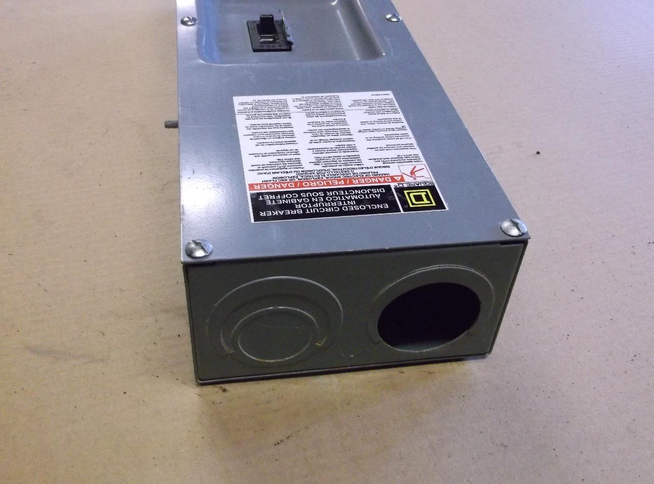 Square D Q22200ns Enclosure W Powerpact Qb200 Circuit Breaker Enclosed Qbl22200 200v