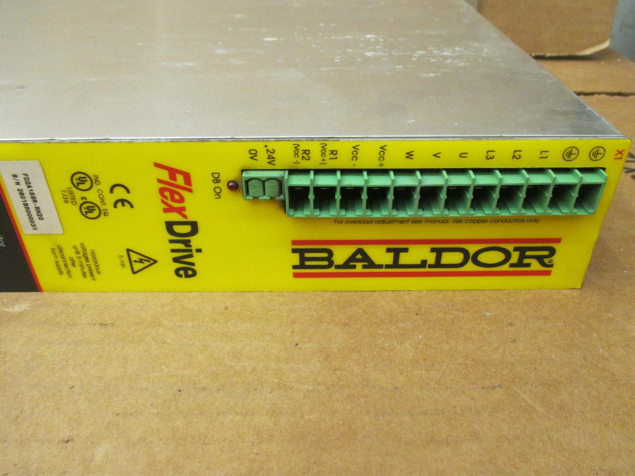 Baldor drive manual.