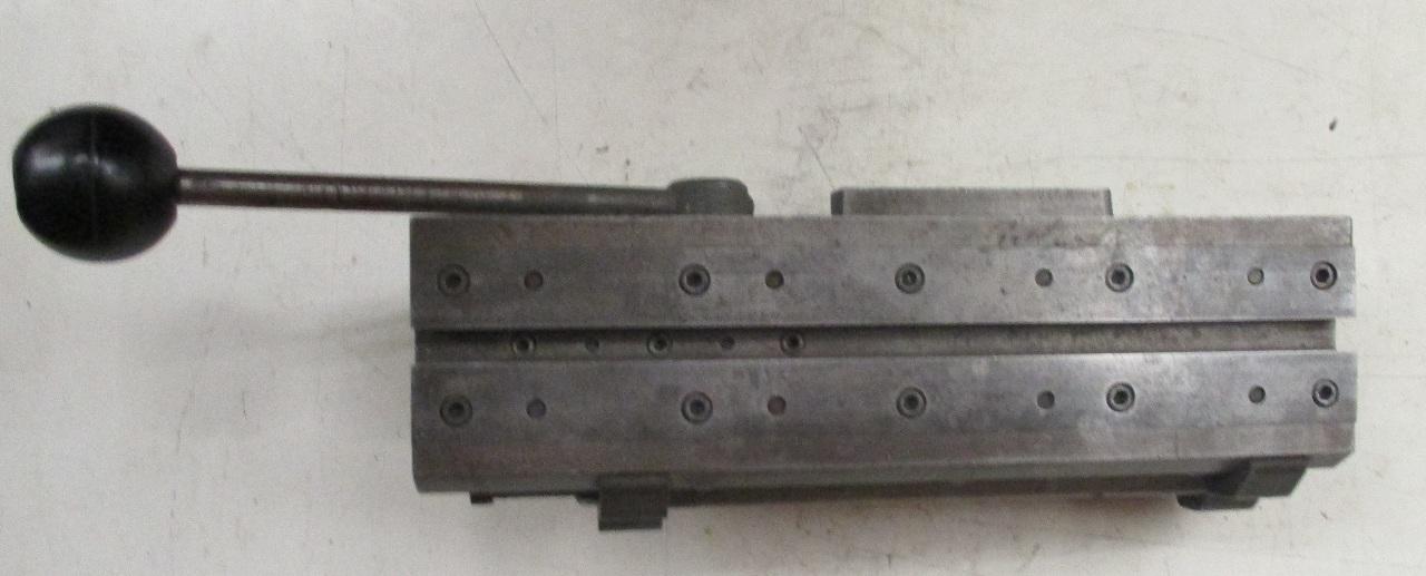 Hardinge Lever Operated Double Tool Cross Slide *possibly model E*