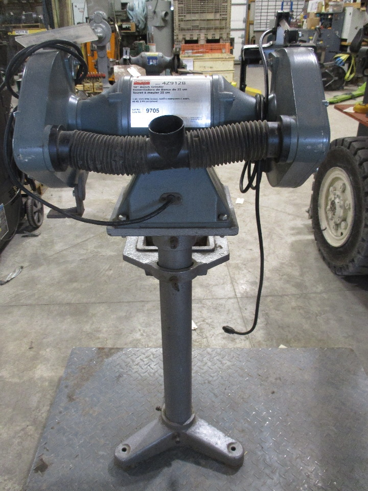 Dayton 42912b 10 Quot Bench Grinder With Stand 1 Hp Daves