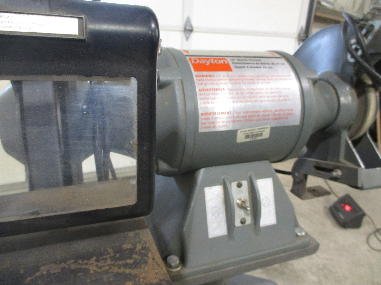 Brilliant Dayton 42912B 10 Bench Grinder With Stand 1 Hp Daves Andrewgaddart Wooden Chair Designs For Living Room Andrewgaddartcom