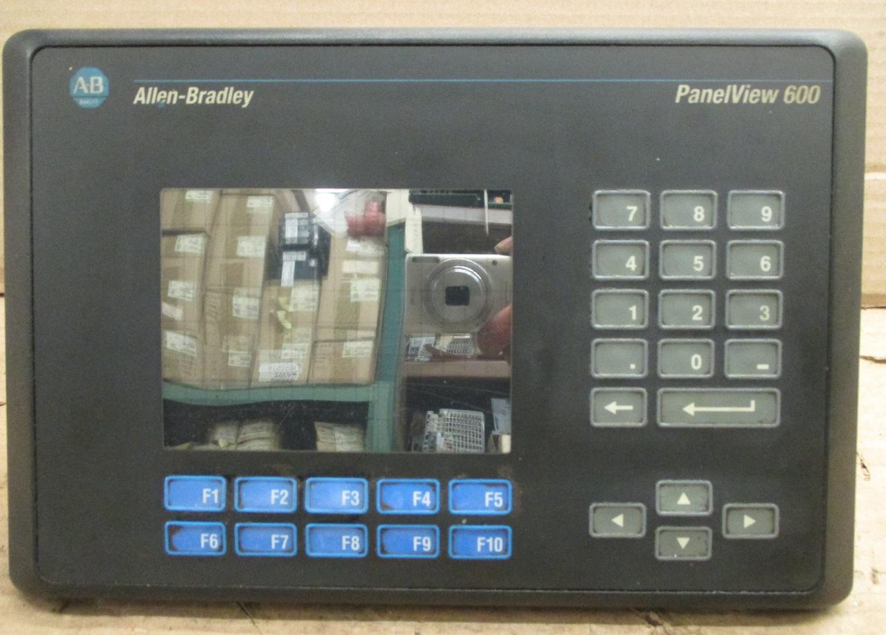 Allen Bradley Panelview 600
